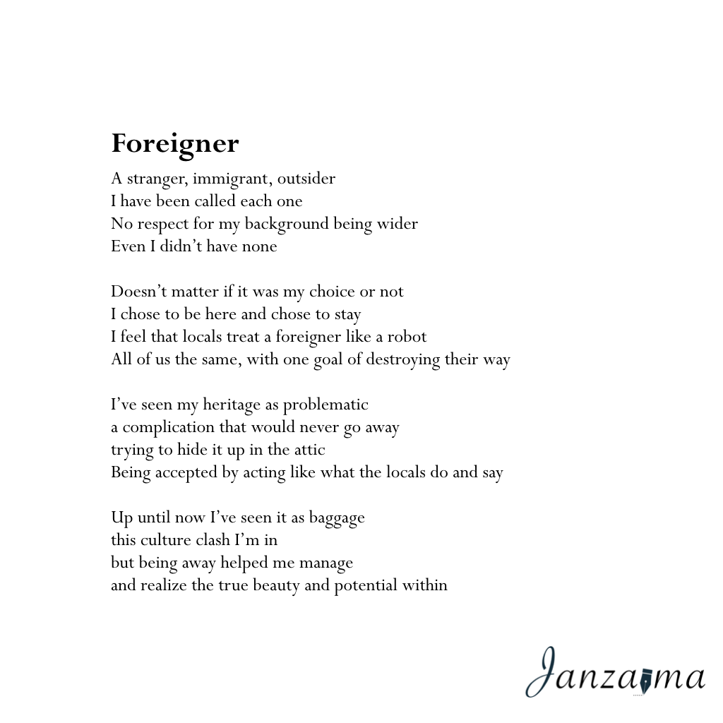 Janzajma poetry foreign