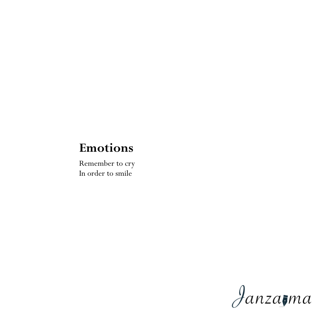 Janzajma poetry emotions