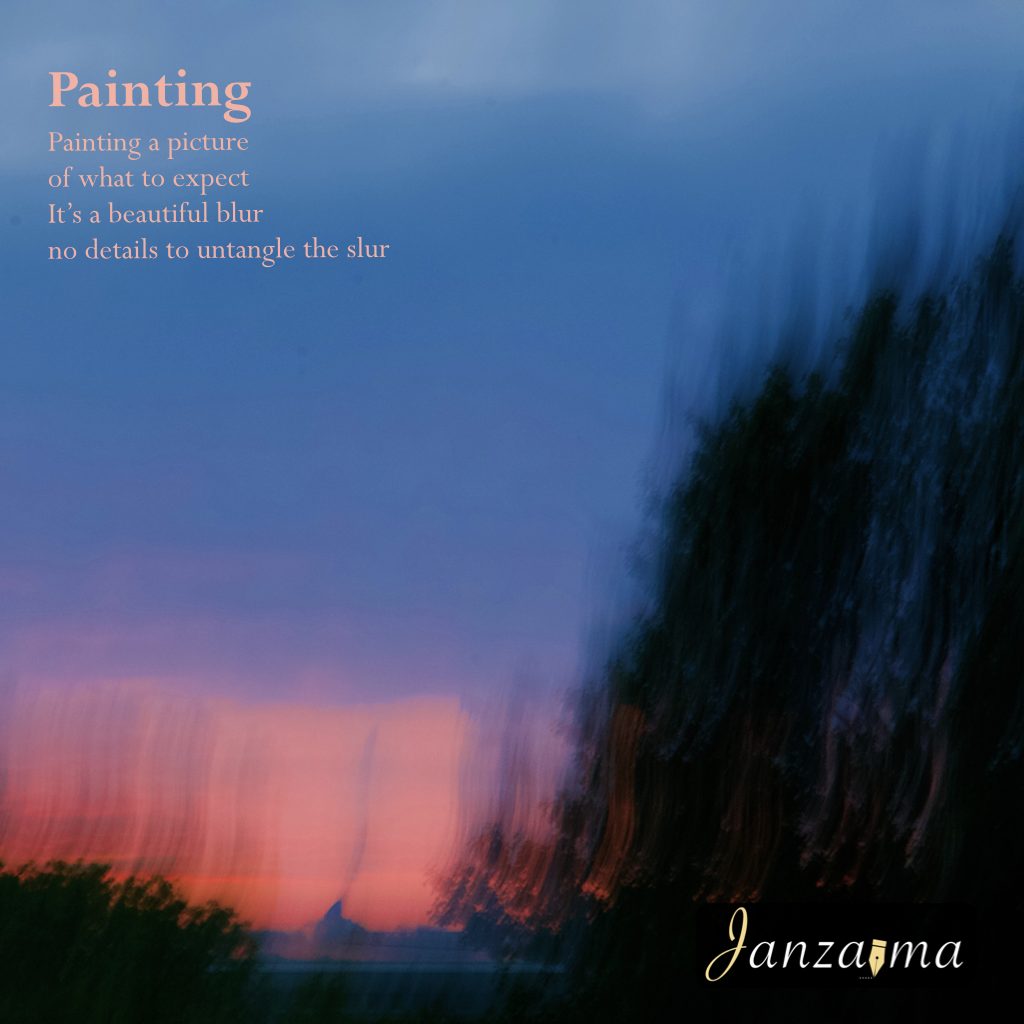 Janzajma poetry abstract