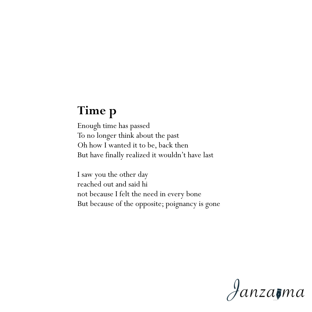 Janzajma poetry letting go