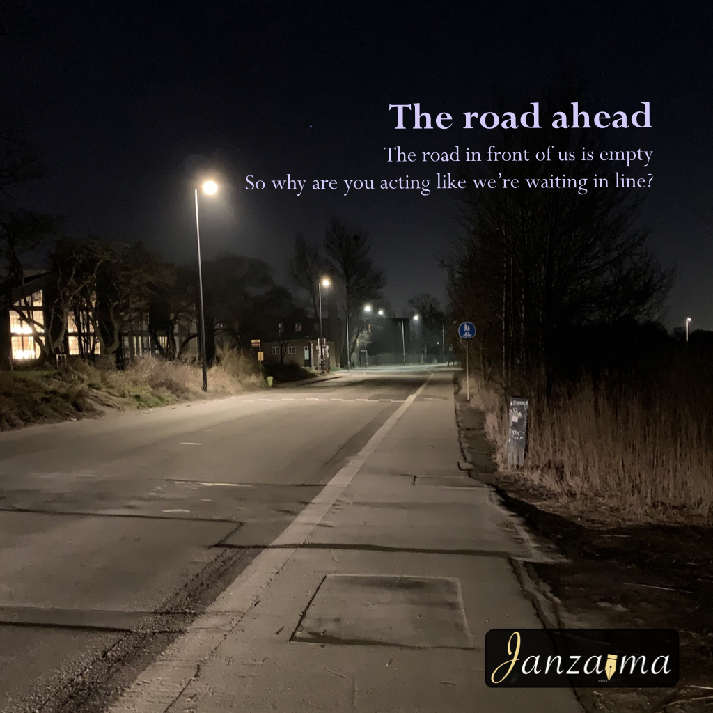 The road ahead poem